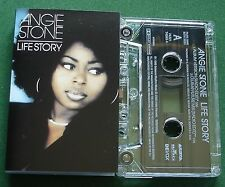 Angie Stone Life Story Cassette Tape Single - TESTED