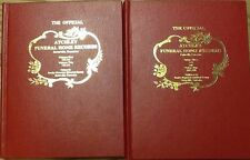 Atchley Funeral Home Records - vol 1-4 - 2 book set - Sevierville TN - HC