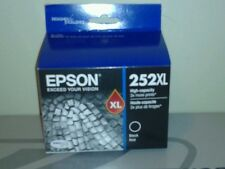 EPSON 252XL BLACK INK CARTRIDGE GENUINE HIGH YIELD  3x LONGER DURABRITE NEW