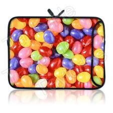 TaylorHe Schutzhülle Laptoptasche für 15 Zoll 15,6 Zoll mit Muster Süßigkeiten