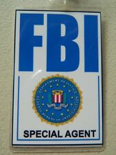 HALLOWEEN COSTUME MOVIE PROP - Costume ID/Security Badges FBI