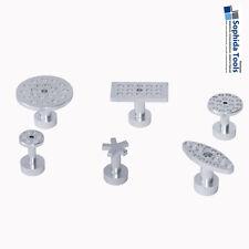 Aluminium Zugadapter Set Klebeadapter 6 teilig Ausbeulwerkzeug PDR Dent Tabs