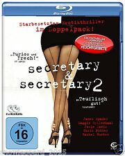 SECRETARY 1 and 2 Blu Ray James Spader part Maggie Gyllenhaal Josie Davis New UK
