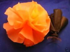 car limousine wedding decoration pom flower deco puff - orange