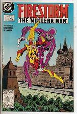 DC Comics Firestorm #72 June 1988 VF+