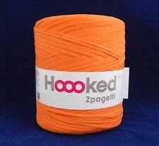 Hoooked Zpagetti Recycled T-shirt Yarn Crochet Knitting Orange