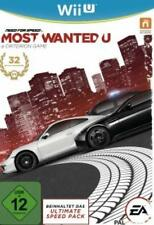 Nintendo Wii U Need for Speed Most Wanted Deutsch Gebraucht Neuwertig