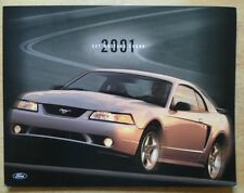 FORD MUSTANG COBRA 2001 Coupe brochure prospekt catalogue - SVT