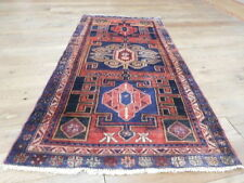 Ca1900s VG DY ANTIQUE PERSIAN HERIZ  SERAPI  3.5x6.10  ESTATE SALE RUG