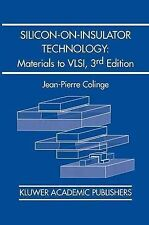 Silicon-on-Insulator Technology: Materials to VLSI : Materials to VLSI, Colinge,