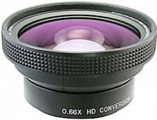 Raynox DCR-6600PRO 52mm 0.66x HD Wide Angle Lens NEW