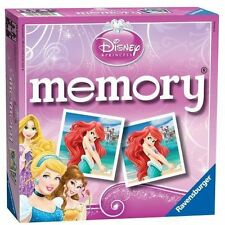 DISNEY PRINCESS CHILDRENS KIDS RAVENSBURGER MEMORY GAME
