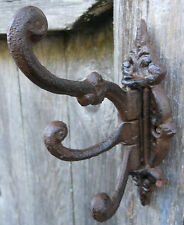 Iron Swivel Hook Wall Hooks Victorian Style 3 Arm Swivel Coat Hook