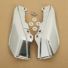 Chrome Mid-Frame Air Deflectors For Harley Touring Road King Electra Glide 2009+