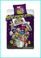 NEW Amazing The TRASH PACK Single Bed Duvet Cover Set 100% COTTON