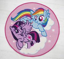 Nuevo Mi Pequeño Pony equeatrian Alfombra Niñas Niños Rosa Dormitorio Alfombra Accesorios