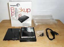 "Black Empty Enclosure for External Hard Drive 2.5"" Seagate Backup Plus, USB 3.0"
