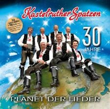 KASTELRUTHER SPATZEN - PLANET DER LIEDER 2 CD NEU