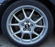 RARE BBS RK 17x7, 5x100, 48mm, Silver Wheels for Subarus/Saabs, One or More