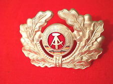 KVP NVA MdI LaSK Mützenabzeichen für Schirmmütze Soldat (Alu)(-1990)(#252c)