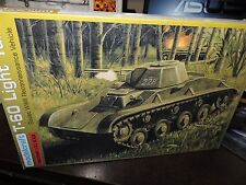 6 X MODELCRAFT-ZVEZDA 1/35TH SCALE T-60TANKS (6 X COMPLETE KITS )# 35-9010