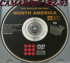 Genuine Toyota Gen 4 Navigation DVD # U27 Map 12.1 Release © 9/2012 Edition 2013