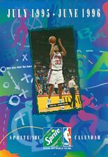 1995-96 Sprite NBA Calendar with Grant Hill on the front