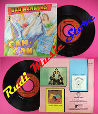 LP 45 7'' BAD MANNERS Can can Armchair disco 1981 france MAGNET no cd mc dvd*