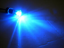 "1/2"" LED Indicator Trailer RV Camper Truck Bright  Marker Light Clear Blue"