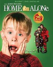 HOME ALONE (Blu-ray/DVD,2015,2-Disc, Digital Copy, 25th Anniversary)NEW W/SLEEVE