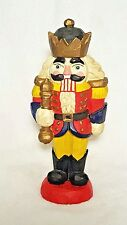 Vintage Nutcracker Style Hand Carved & Painted Wooden Figure Germany? RARE