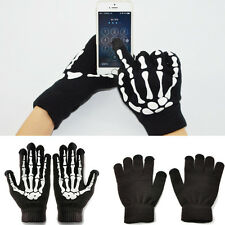 Hot Women Men Winter Warm Gloves Skeleton Mitten Smart Phone Tablet Touch Screen