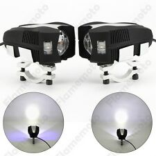 Motorcycle Car CREE LED Driving Spot Spotlight Flash Head Fog Lamp Light For BMW