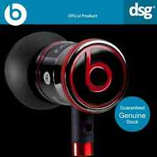 100% GENUINE MONSTER BEATS BY DR DRE iBEATS IN EAR BLACK HEADPHONES EARPHONE