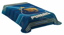 Pumas de La UNAM Logo Twin Size Blanket New in Original Package Made In Mexico