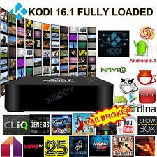 XGODY M8S PRO MX Quad Core Android 5.1 Smart TV BOX FULLY LOADED KODI16.1 MINIPC