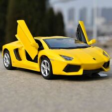 1/32 Lamborghini Aventador LP700-4 Diecast Car Model Toys&Collections Yellow