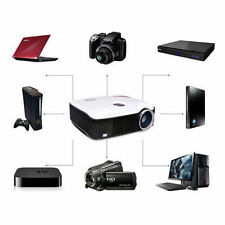 1080P 2600Lumens HD LED/LCD Projector HDMI Video Home Video Theater Multimedia