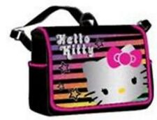 Hello Kitty Messenger bag shoulder baby diaper tote handbag Sanrio rainbow black