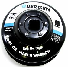 "BERGEN 3/8"" Dr Oil Filter Wrench 73mm 14 Flutes Lexus Toyota Nissan NEW 3072"