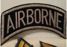 TOPPA AIRBORNE USA ESERCITO PATCH ORIGINALE