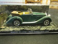JAMES BOND CARS COLLECTION BENTLEY 4 LITRE FROM RUSSIA WITH LOVE