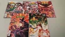 Mighty Morphin Power Ranger Comics Set #1-5!  BOOM Studios!