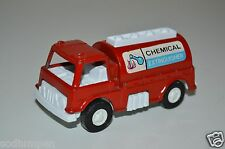 WOW Vintage TOOTSIETOY 1970 Chemical Extinguisher Red Metal Fire Truck Toy RARE