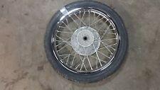 "1980 yamaha sr250 exciter Y407-1~ front wheel rim 18"""