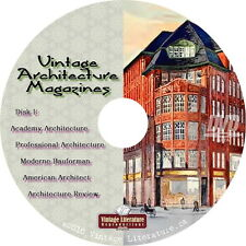 Vintage Architecture Magazine Library {Homes Cottages & Mansion Plans} on DVD