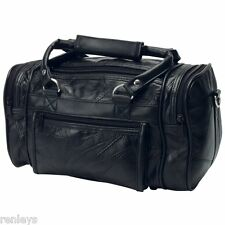 Men's Travel Case Shaving Kit Bag Dopp Gear Travel Overnight Toiletry Leather