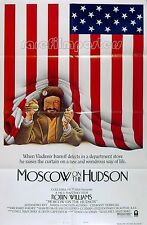 MOSCOW ON THE HUDSON 1984 Robin Williams US 1-SHEET  POSTER #B