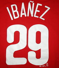 PHILADELPHIA PHILLIES - NWOT - RED - IBANEZ  #29  MAJESTIC  T-SHIRT SIZE XL