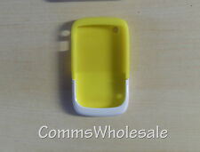 Genuine BlackBerry acc-32920-204 Giallo / Bianco Premium Pelle 9330 8520 9300 CURVA